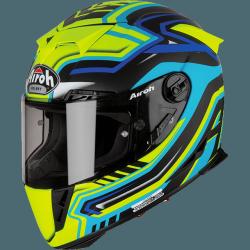 KASK AIROH GP 500 RIVAL BLUE MATT XL