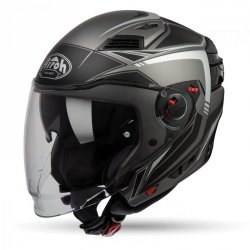 KASK AIROH EXECUTIVE LINE ANTHRACITE MATT S