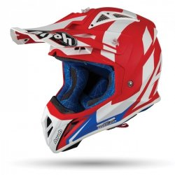 KASK AIROH AVIATOR 2.3 AMS2 BIGGER RED MATT S