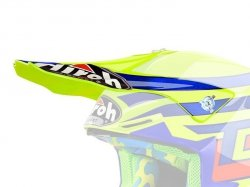 DASZEK DO KASKU AIROH TWIST CAIROLI QATAR YELLOW GLOSS