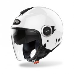 KASK AIROH HELIOS COLOR WHITE GLOSS XL