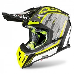 KASK AIROH AVIATOR 2.3 AMS2 GLOW CHROME YELLOW XL