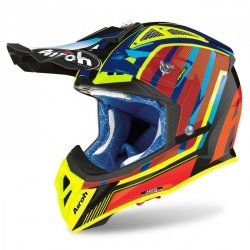 KASK AIROH AVIATOR 2.3 AMS2 GLOW CHROME ORANGE M