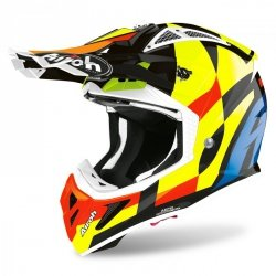 KASK AIROH AVIATOR ACE TRICK GLOSS L