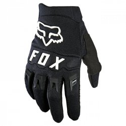 RĘKAWICE FOX JUNIOR DIRTPAW BLACK/WHITE YXS