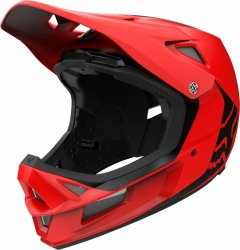 KASK ROWEROWY FOX RAMPAGE COMP INFIN BRIGHT RED XL