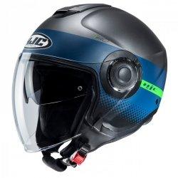 KASK HJC I40 UNOVA BLACK/BLUE XL