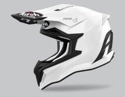 KASK AIROH STRYCKER COLOR WHITE GLOSS XL