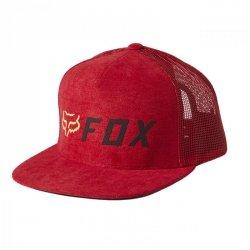 CZAPKA Z DASZKIEM FOX APEX SNAPBACK RED/BLACK OS