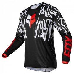 BLUZA FOX 180 PERIL BLACK/RED XXL