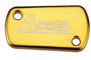 Accel tylna pokrywa pompy hamulcowej - Kawasaki KX 250 (03-07)