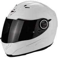 SCORPION EXO-490 kask motocyklowy biały połysk