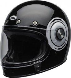 BELL BULLITT KASK MOTOCYKLOWY DLX BOLT BLACK/WHITE + BON 450 ZŁ