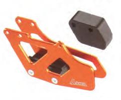 Accel prowadnica łańcucha - KTM - pomarańczowy