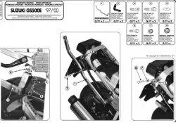 KAPPA K5260 stelaż kufra centralnego Suzuki GS 500 E (01-04)