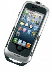 Uchwyt na kierownicę Iphone 5/5s Silver