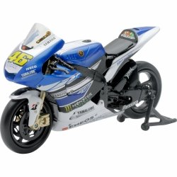 Model motocykla Yamaha V. Rossi 2013 Racing Team Skala 1:12