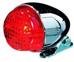 Shin Yo Texas Tylna uniwersalna lampa motocyklowa chromowana