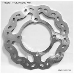 Tarcza hamulcowa przednia Kawasaki KX 65 (00-16)