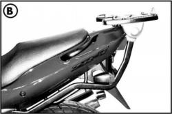 KAPPA stelaż kufra centralnego Kawasaki ZR 7 - ZR 7S (99-03)
