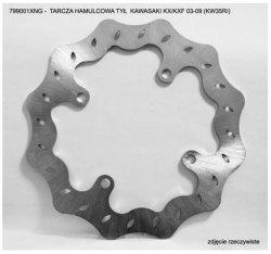 Tarcza hamulcowa tylna KAWASAKI KLX 450 (07)