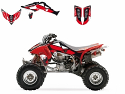 Blackbird Honda TRX 450 (04-15) Dream2 naklejki okleina quad atv