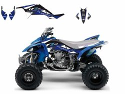 Blackbird Dream 2 Yamaha YFZ 450 (04-09) okleina naklejki quad atv