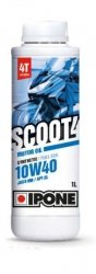 Ipone Scoot 4 10W40 półsyntetyczny olej do skuterów 4-suwowych 1L