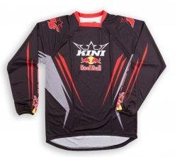 Koszulka MX offroad Kini Red Bull Competition Black