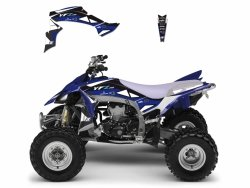 Blackbird Dream 2 Yamaha YFZ 450 (09-18) okleina naklejki quad atv