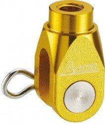 Accel końcówka ośki pompy hamulcowej tył - Kawasaki KX250/450F (04-12) - złoty