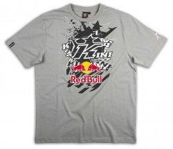 KINI RED BULL Pasted K Grey T-Shirt koszulka szara