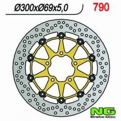 NG Tarcza hamulcowa przednia SUZUKI GSX-R 600 K4 K5 (04-05)