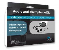 Zestaw słuchawkowy Audio Kit Głośniki + Mikrofony do interkomu PACKTALK Scala Rider Cardo