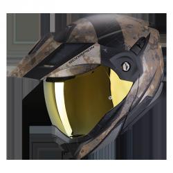 SCORPION ADX-1 BATTLEFLAGE MAT (SAND-GREY) KASK MOTOCYKLOWY SZCZĘKOWY