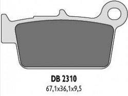 Delta Braking YAMAHA450 YZF X/FY/FZ/FA (08-13) klocki hamulcowe tył