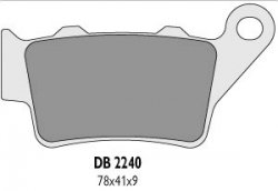 Delta Braking YAMAHA600 TT-R (95-04) klocki hamulcowe tył