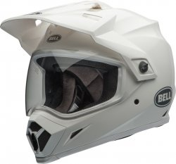 Bell MX-9 KASK MOTOCYKLOWY Adventure Mips Solid White