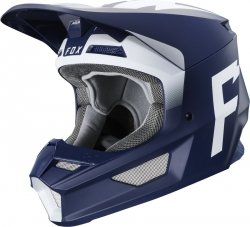 FOX V-1 KASK WERD NAVY