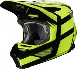 FOX V-2 KASK HAYL FLO YELLOW