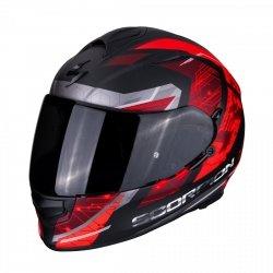 SCORPION EXO-510 AIR CLARUS Mat kask motocyklowy czarny-czerwony