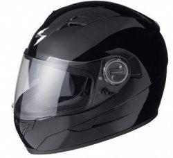 Scorpion Exo-500 kask motocyklowy czarny połysk r. L