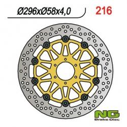 NG Tarcza hamulcowa przednia Honda HORNET 250 (96-01) 296x58x4,0