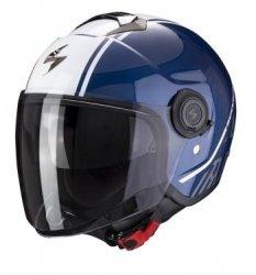 Scorpion kask motocyklowy EXO-CITY AVENUE DARK BLUE-WHITE