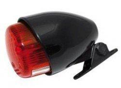 Shin Yo Texas Tylna uniwersalna lampa motocyklowa czarna