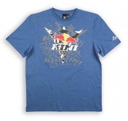 KINI RED BULL Fade Navy T-Shirt koszulka niebieska