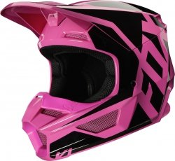 FOX JUNIOR V-1 KASK PRIX PINK