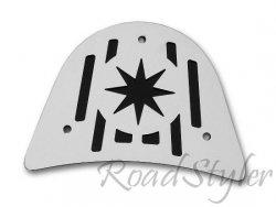 Blacha tylna do oparcia (duża) - Gwiazda