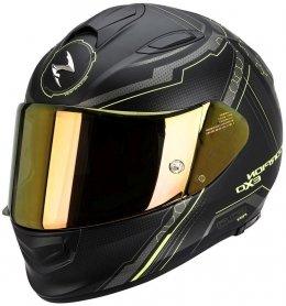 Scorpion Exo-510 AIR SYNC kask motocyklowy czarny-neon