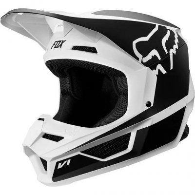 KASK FOX V-1 PRZM BLACK/WHITE  L